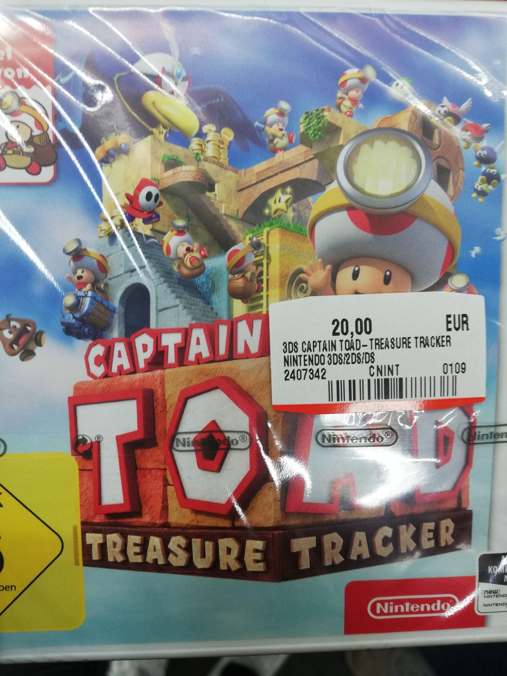 Captain Toad Treasure Tracker Nintendo 3ds(Lokal Mediamarkt Schwedt)