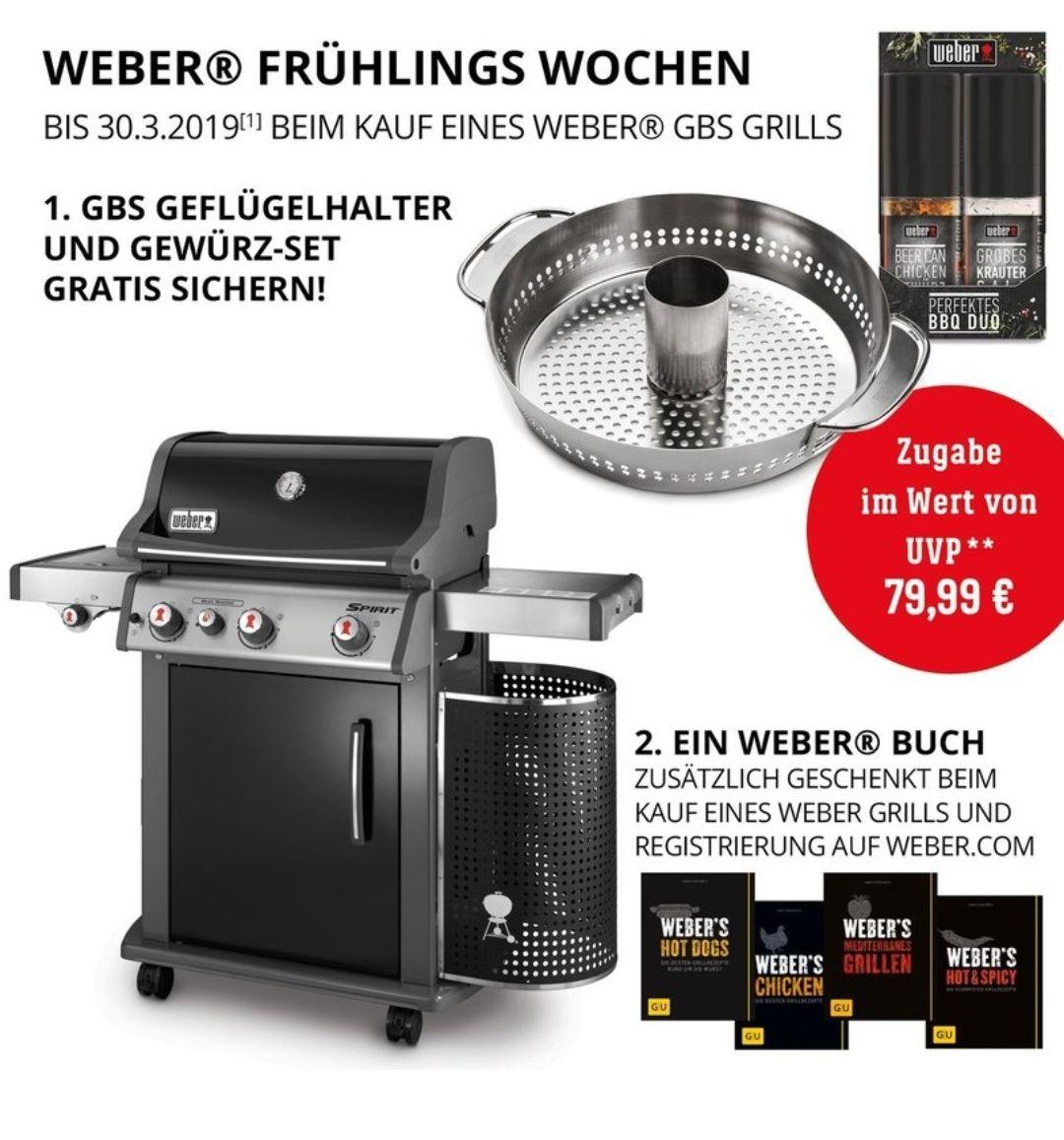 Weber Spirit E-330 Gasgrill, schwarz