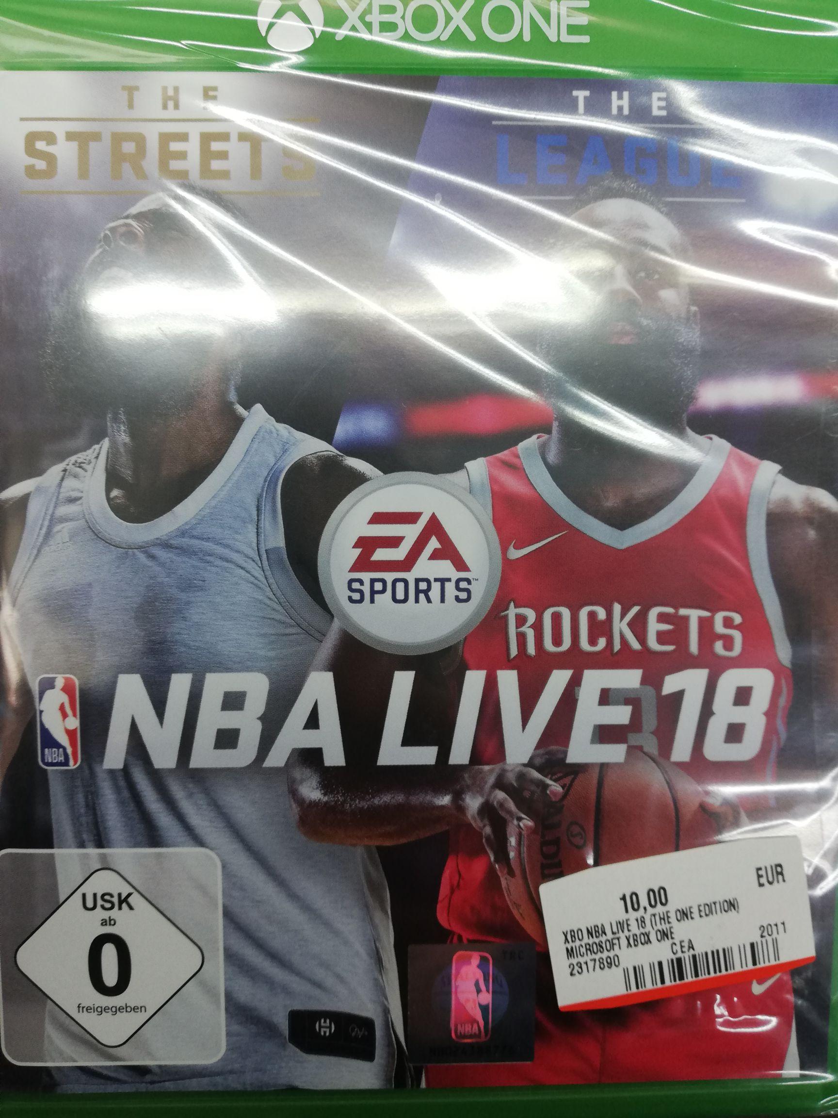 NBA Live 18 The One Edition (Xbox One) (Lokal Mediamarkt Schwedt)