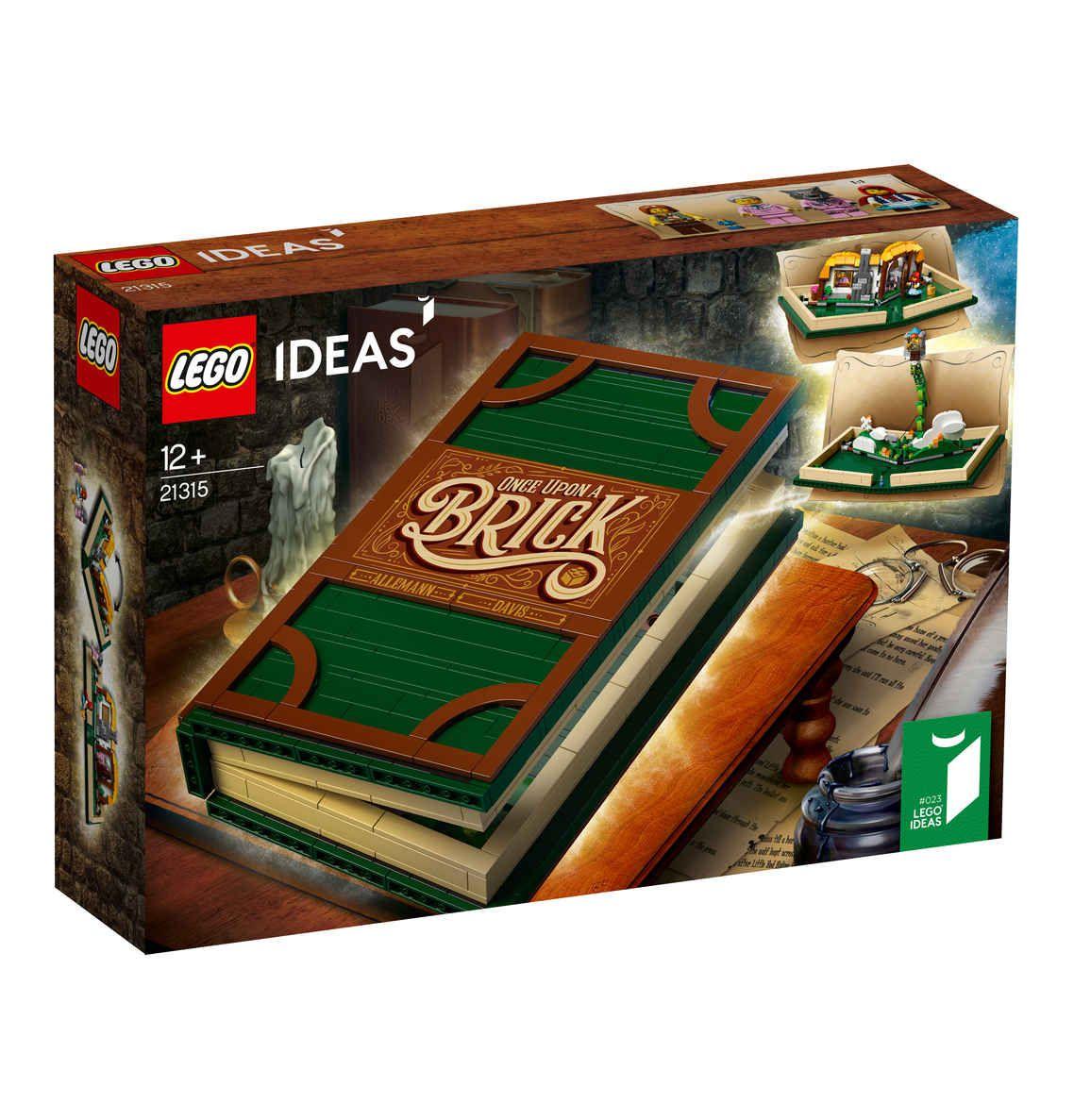 Lego Ideas Pop-Up Buch 21315