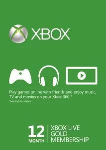 12 Monate Xbox Live Gold-Mitgliedschaft (Xbox One/Xbox 360) für 30,17€ (Gamivo) Code geht bis 21 Uhr und zieht 15% auf Alles ab