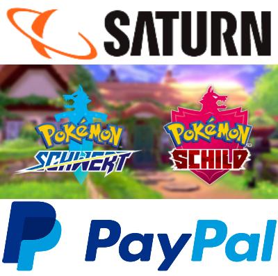 15€ Rabatt auf Games-Vorbestellung bei Zahlung mit Paypal -z.B. Pokémon Schwert od. Schild, Days Gone (PS4) für 49,99€, Anno 1800 für 49,99€