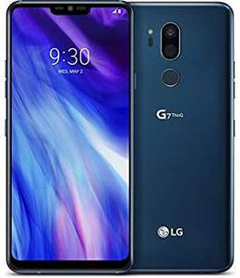 LG G7 ThinQ Smartphone (15,47 cm (6,1 Zoll) FullVision LCD Display, 64GB interner Speicher, 4GB RAM, einstellbare Notch, IP68, Android 8.0)