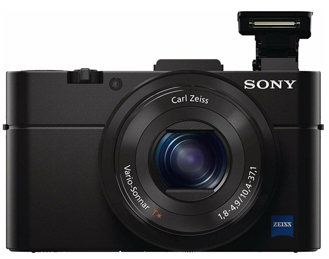 """Sony DSC-RX100 Mark II Cybershot digitale Kompaktkamera (20 Megapixel, 3,6-fach opt. Zoom, 7,6 cm (3"""") Display, Full HD, NFC, WiFi) schwarz"""