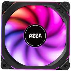 AZZA Prisma Digital RGB 140x140x33, Gehäuselüfter (schwarz, ohne RF Remote)
