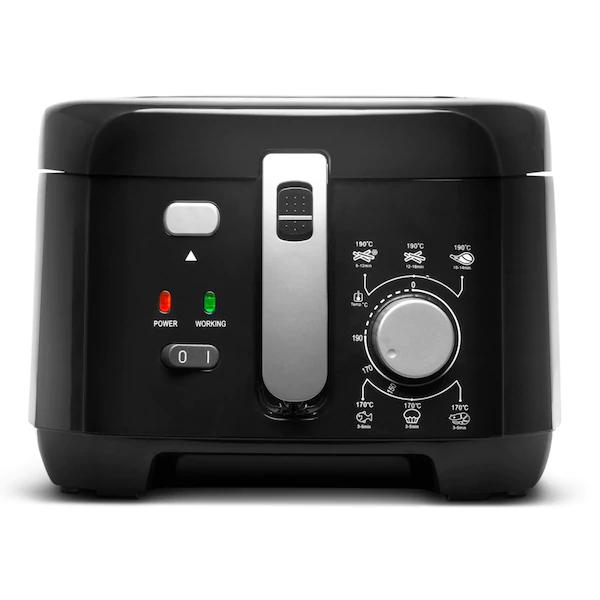 [Medion] MEDION® Fritteuse MD 17771, 1.800 Watt, integr. Aluminium-Filter, Sichtfenster im Deckel, 2,5 l Ölbehälter, Überhitzungsschutz