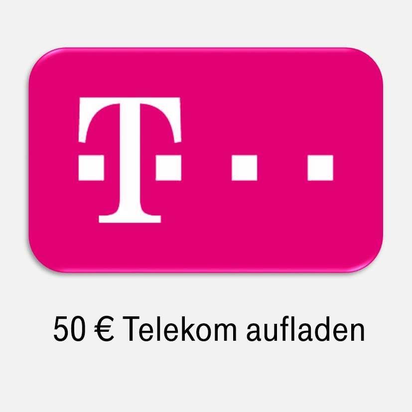 50 Euro Telekom und congstar Prepaid-Guthaben für 46,90€