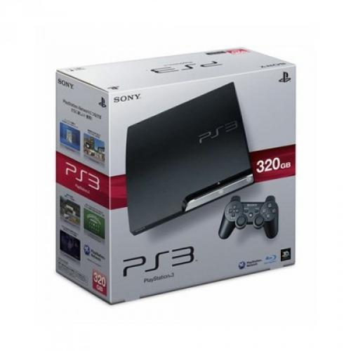 Sony PlayStation 3 Slim Konsole 320 GB + Gran Turismo 5 + 2 Controller für nur 299 EUR
