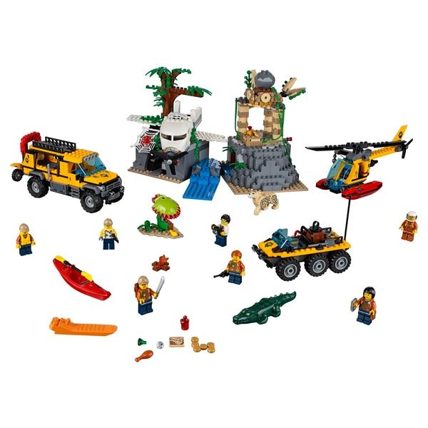 [SMYTHS Toys] LEGO® City 60161 Dschungel-Forschungsstation