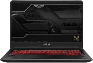 "Asus FX705GM-EW116 17,3"" Gaming Notebook (FHD IPS-Display, 60Hz, i7-8750H, GTX 1060 6GB, 8GB RAM, 512GB PCIe SSD, Bluetooth 5.0, WLAN ac)"