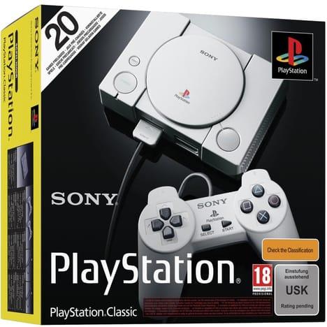 Sony PlayStation Classic Konsole mit 2 Controller für 34.19€ inkl. Versand nach Deutschland (Smartoys.be)