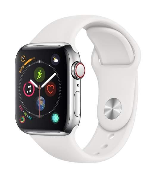 Apple Watch Series 4, Edelstahl/Silber @ Shifter