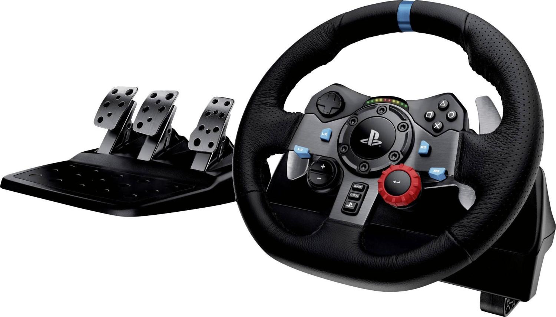 Logitech G29 Driving Force Rennlenkrad (geeignet für PS4, PS3 und PC) für 156,02€ inkl. Versandkosten