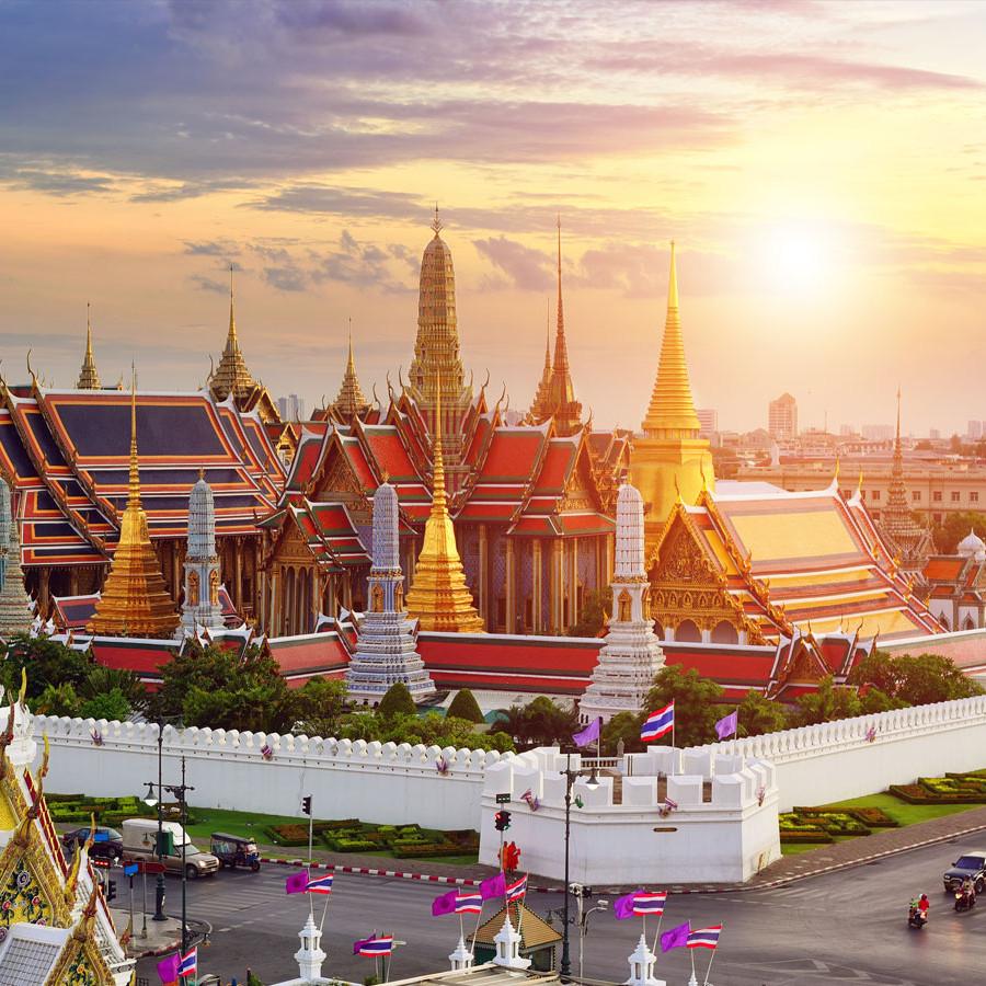 Flüge nach Thailand / Bangkok inkl. Gepäck hin und zurück von Frankfurt, Düsseldorf, Berlin und München (Mai) ab 332€