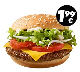 Ab 25.03. bei McDonalds - Hamburger Royal TS für sagenhafte 1,99 €
