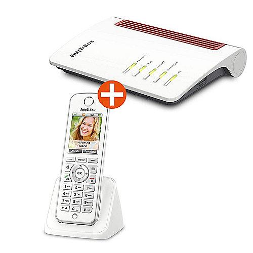 AVM FRITZ!Box 7530 Router + FRITZ!Fon C4 DECT Telefon Bundle für 129,90€ inkl. Versandkosten