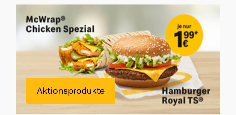 Big Mac als Wrap: McWrap Chicken Spezial ab 25. März bei McDonalds