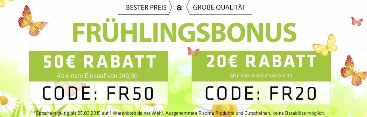 Bei Helmexpress  50/20€ Rabattcode