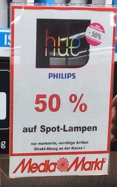 [Lokal MM Osnabrück-Belm] - Hue Spots Sammeldeal: Alle min. 48% unter PVG!