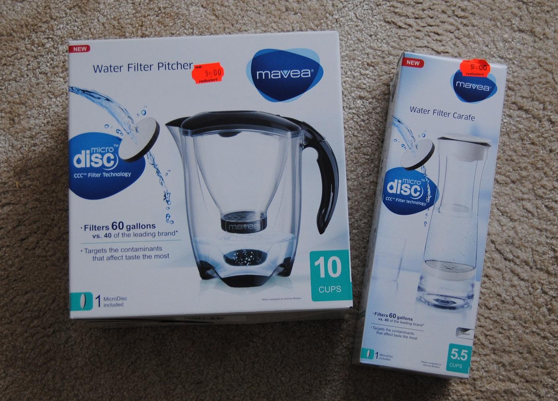 [Real - lokal Wesel] Mavea Wasserfilter und Filterkaraffe je 5€ (= Brita)