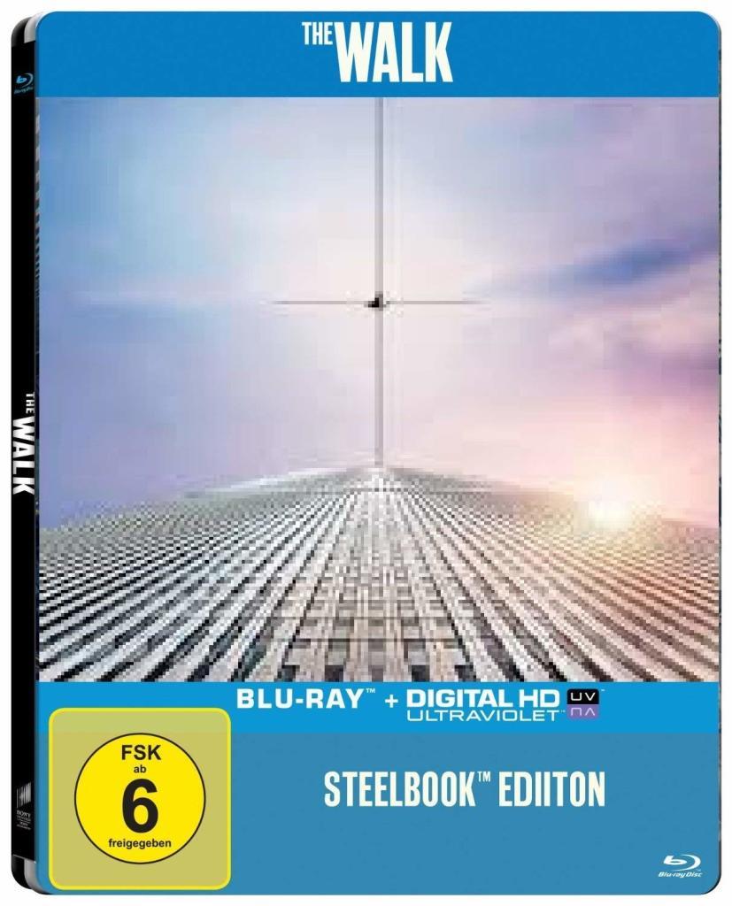 The Walk Limited Steelbook Edition (Blu-ray + UV Copy) für 5€ versandkostenfrei (Media Markt)