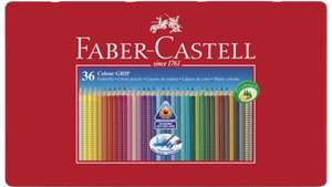 FABER CASTELL Farbstift Grip Colour 36er-Metalletui [MÜLLER]