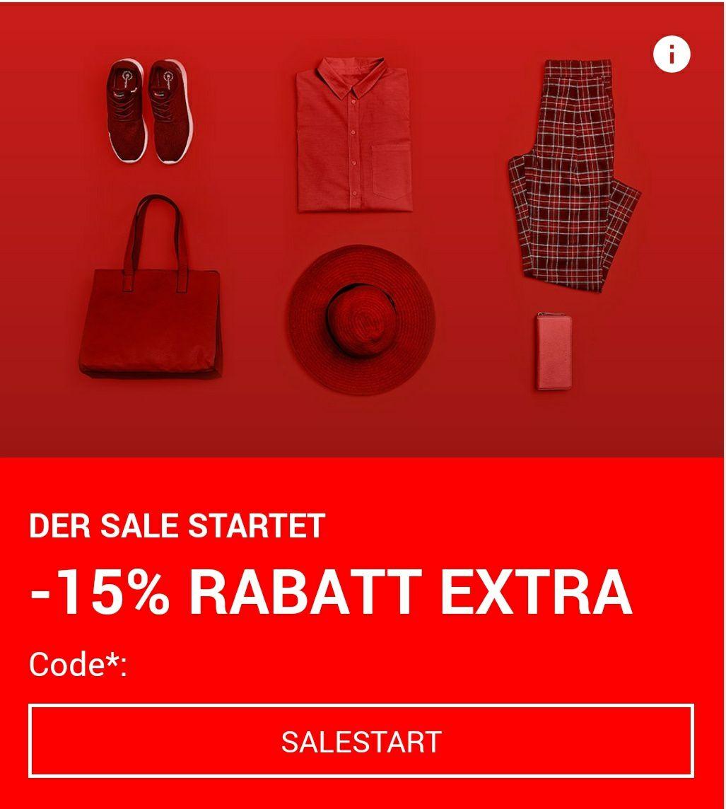 15% Extra Rabatt im Sale