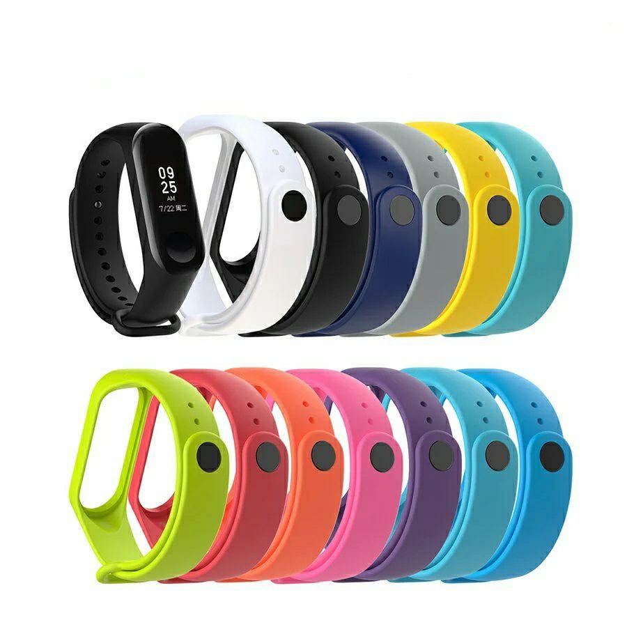 Xiaomi Mi Band 3 Ersatzarmbänder - alle Farben - je 0,29€