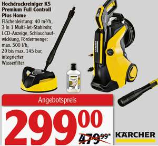 [Bauhaus] Kärcher K5 Full Control Premium Plus Home [TPG]