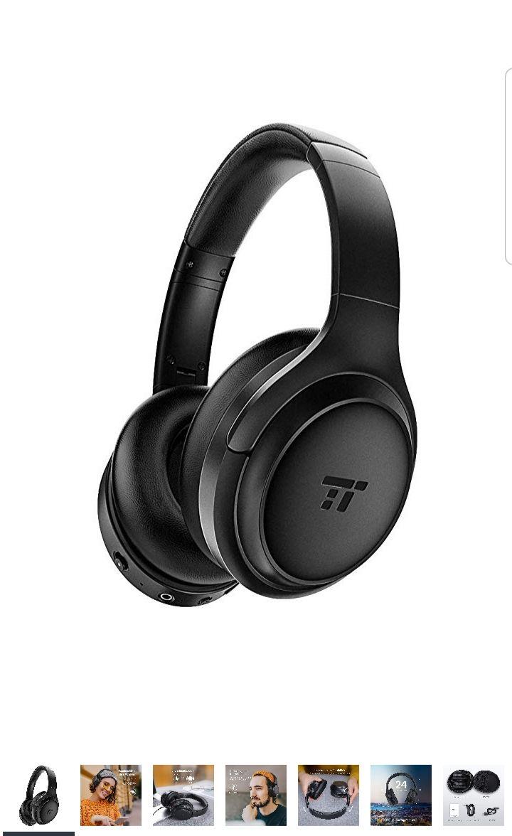 TaoTronics Bluetooth 5.0 Kopfhörer Modell: TT-BH060 (2019) Over ear Active Noise CancellingANC