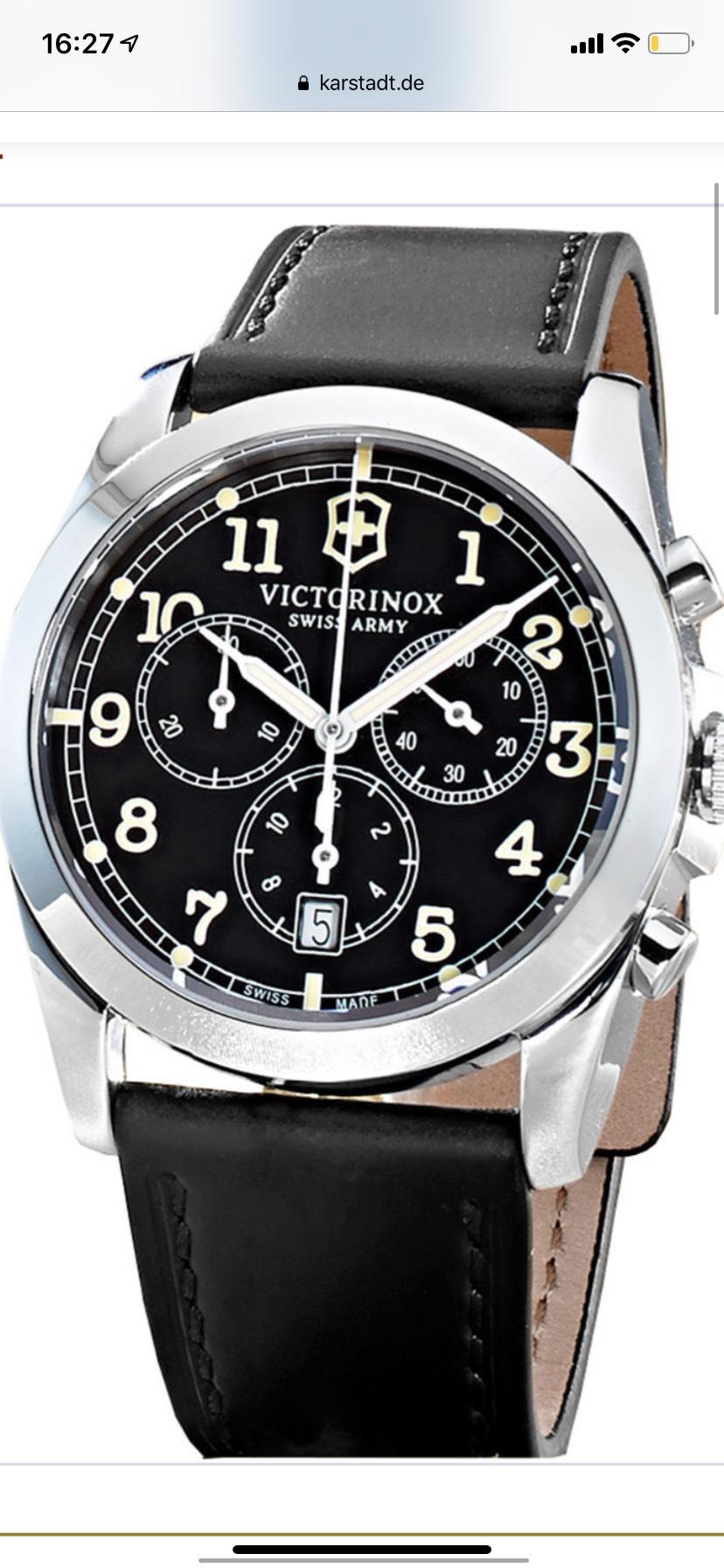Uhr Victorinox Swiss Army Chronograph Infantery 241588