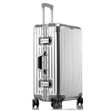 MATOM All Aluminium Koffer, alle Größen für unter 100€, Rollkoffer, Handgepäck und größer, silber, rot, gold, blau, schwarz, rosé