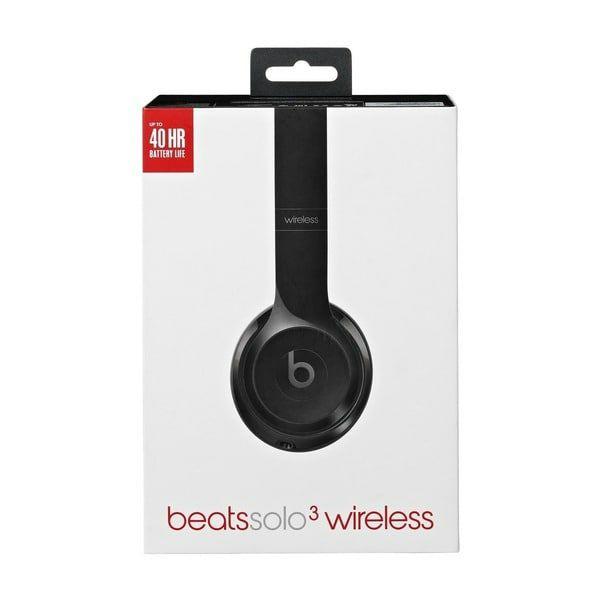 Beats By Dre Solo3 Wirelessschwarz *Lokal für Grenzgänger NL*