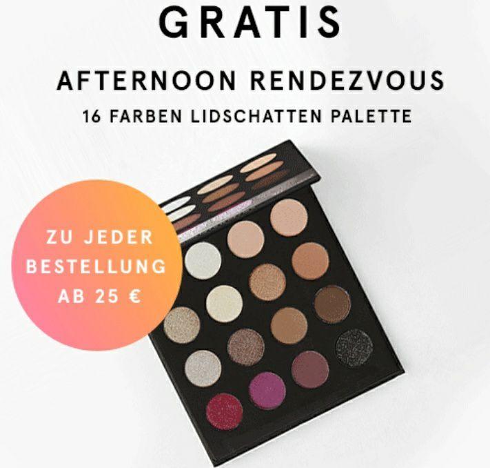 bh Cosmetics Rabatte ab 20€/30€/50€ und gratis Lidschatten-Palette ab 25€
