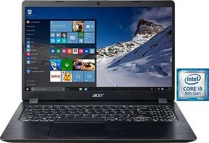 "Acer Aspire 5 A515-52G-52K3 Notebook i5 8265u, MX 150, 15,6"" FHD IPS Display, 1TB HDD + 128gb SSD, 8Gb Ram,  1,9Kg Gewicht"