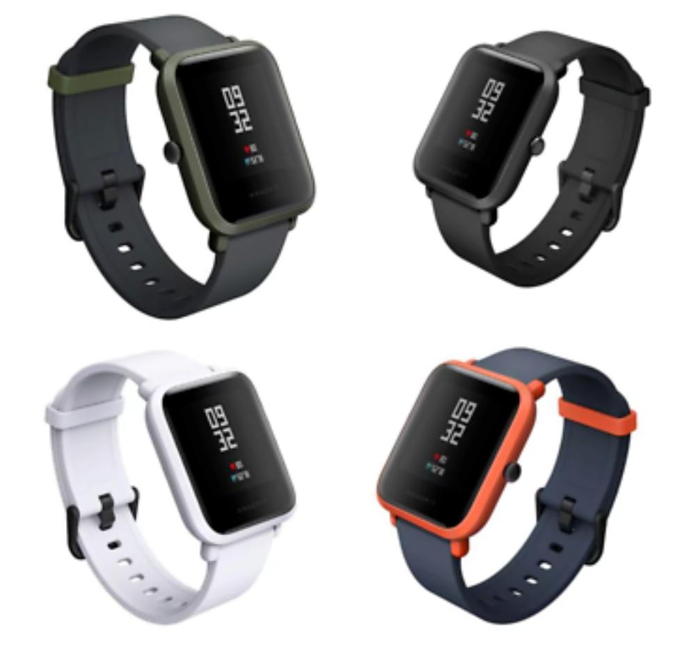 Xioami Huami Amazfit Bip Smartwatch, Bluetooth 4.0, GPS, IP68 wasserdicht, in vier Farben [Händler und Versand aus DE]