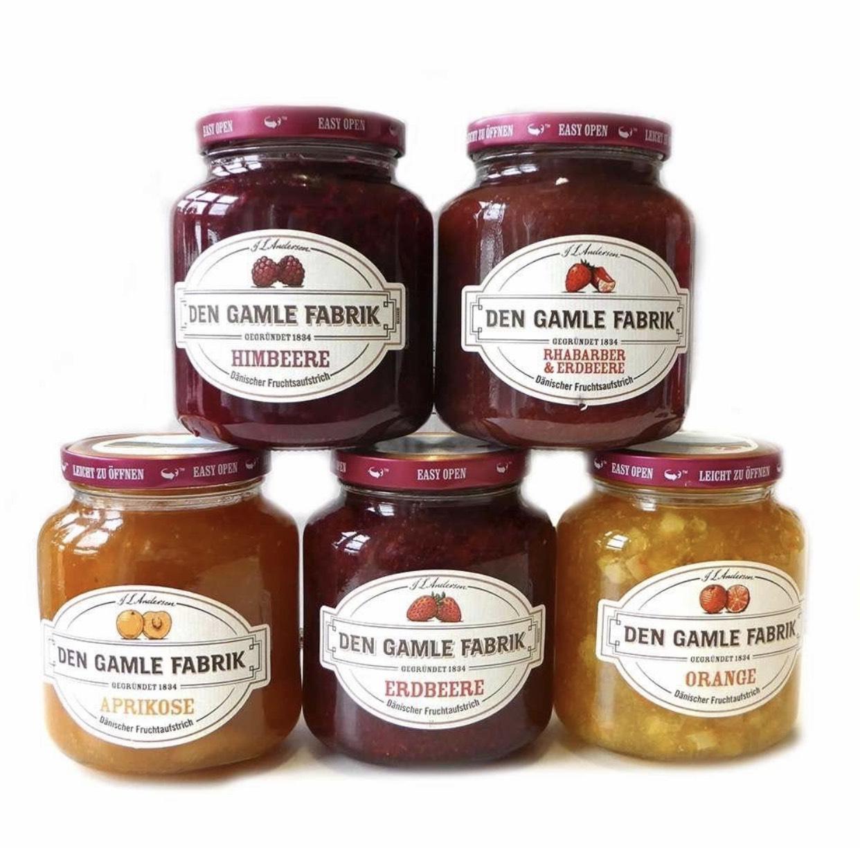 Den Gamle Fabrik Marmelade (Fruchtaufstrich) 900g verschiedene Sorten 3.69€ [Penny ab 25.03]
