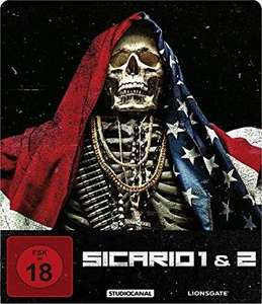 Sicario 1 & 2 - Limited Steelbook Edition (Blu-ray) für 15,65€ (Thalia)