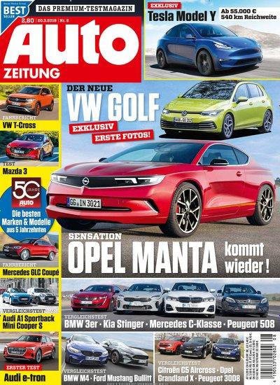 Auto Zeitung (28 Ausgaben) für 75,20 € mit 75 € BestChoice- oder Amazon-Gutschein + 50 °P
