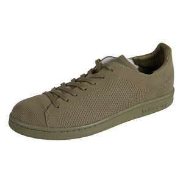 adidas Stan Smith Primeknit in khaki/braun