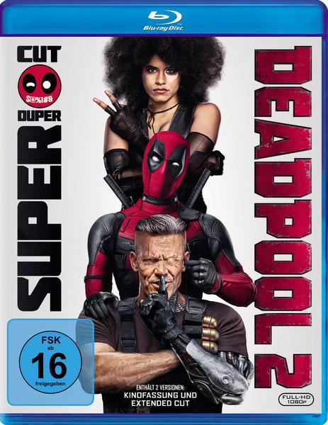Deadpool 2 (2x Blu-ray) für 8,19€ inkl. Versand (Thalia)