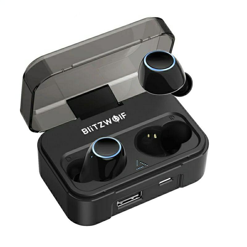 BlitzWolf BW-FYE3 - True Wireless Earbuds - IPX6 - AB1526P Chip - 2600mAh Ladebox