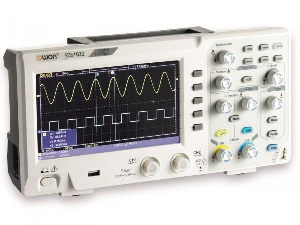 2 Kanal Oszilloskop OWON SDS1022 20MHz für 169,95 Euro / OWON SDS1022 100MHz für 224 Euro [Elektor]