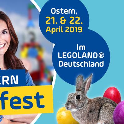 [Regional Günzburg] Freier Eintritt für Kinder (bis 17 Jahren) ins Legoland Günzburg (vom 21. bis 22. April)
