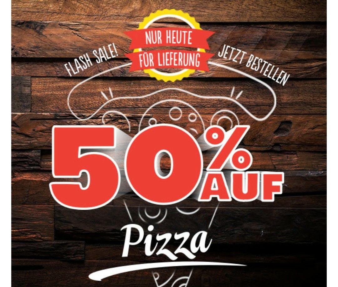 50% auf alle gelieferten Pizzen bei Domino's