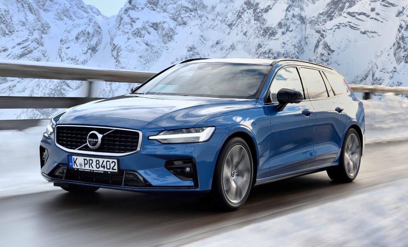 [Gewerbeleasing] Volvo V60 Modelljahr 2020 T5 / T6 in der Inscription oder R-Design Ausstattung inkl Full Service. LF = 0,44