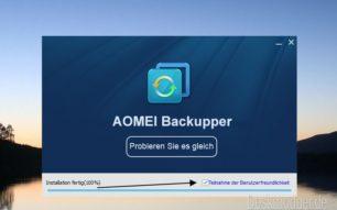 AOMEI Backupper Professional 4.6.2 kostenlos