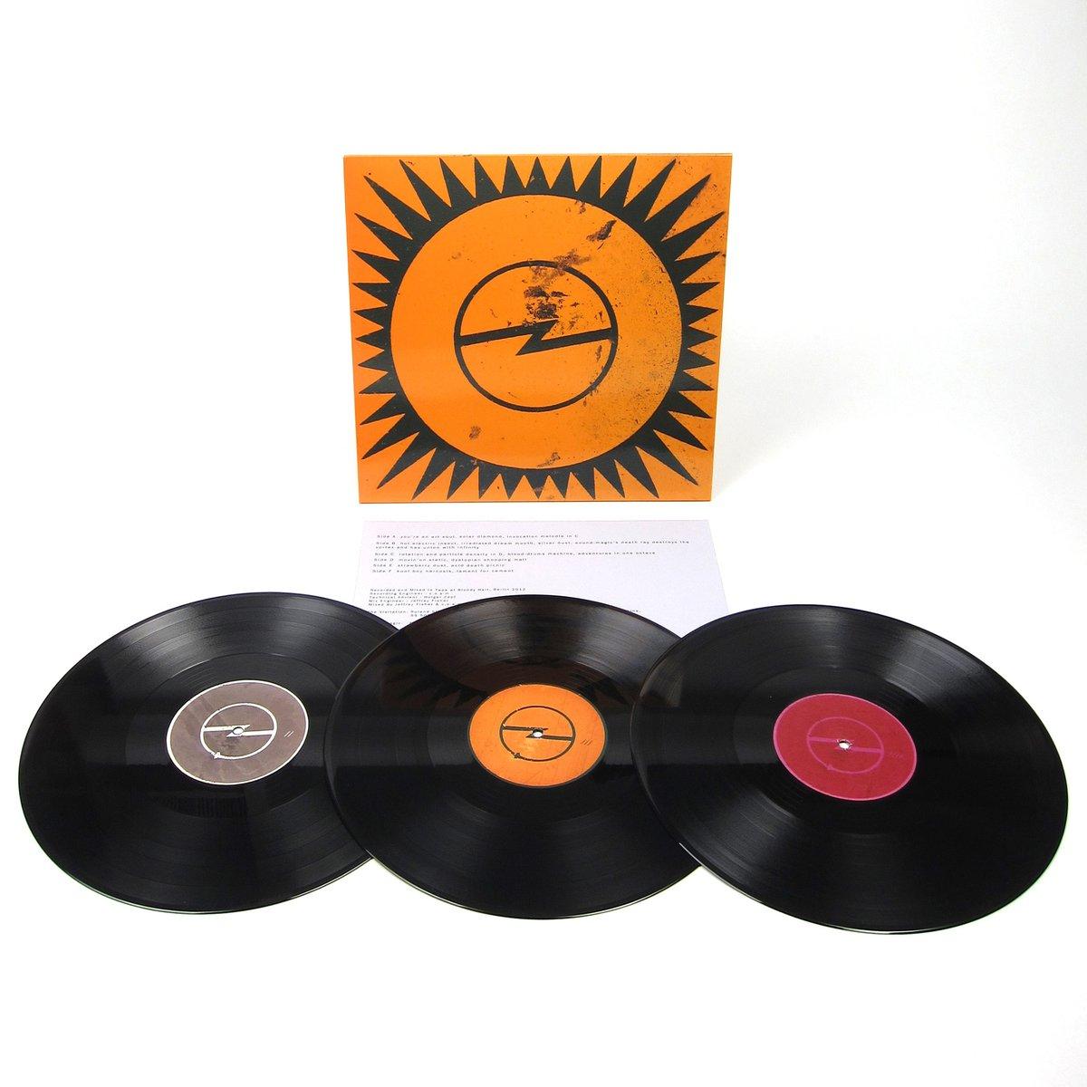 Cavern Of Anti-Matter: Blood Drums [2 (3?) LP Box-Set, Schallplatte, Vinyl] [urbanoutfitters.de]