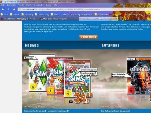 Die Sims 3 plus Jahreszeiten