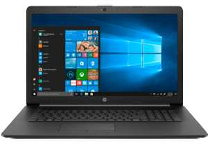 Saturn - HP 17-by0334ng, Notebook, Core™ i7 Prozessor, 8 GB RAM, 1 TB HDD, 128 GB SSD, Radeon™ 520, Schwarz